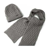 Land Rover Beanie and Scarf Set