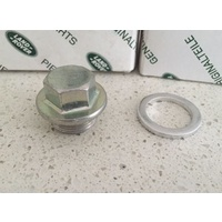 Land Rover Perentie Genuine Oil Plug And Washer