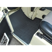 Land Rover Series 2/3 Front Rubber Floor Mats