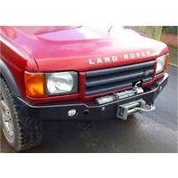 Land Rover Discovery 2 Front Winch Bar with Fog/Driving lights
