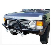 Range Rover Classic Shadow Tubular Winch Bar with A Bar