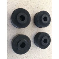 Land Rover Perentie Roof Rack Mounting  Rubbers x 4