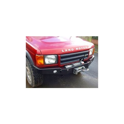 Front Winch Bumper Land Rover Discovery I Bluelakeoffroad: Land Rover Discovery 2 Front Winch Bar With Fog/Driving Lights