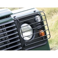 Land Rover Defender/Perentie Front Hinged Light Guards SPECIAL PRICE