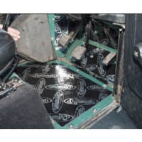 Land Rover Perentie/Defender Sound Deadening Footwell Kit