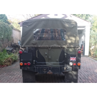 "Land Rover Series 2/2a/3 109"" Full Hood KHAKI With Side Windows"