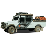 Land Rover Defender 110/130 Slimline II 1/2 Roof Rack Kit - Front Runner