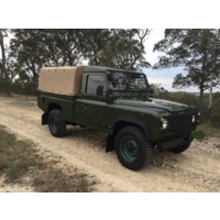 Land Rover 110/130 HCPU Canvas Hood