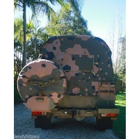 Land Rover Perentie RFSV and 6x6 Spare wheel cover