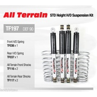 NEW PRODUCT Terrafirma All Terrain Denender 90 STD Height H/D Suspension Kit