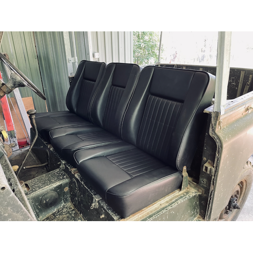 Land Rover Series Deluxe Front Seat Kit
